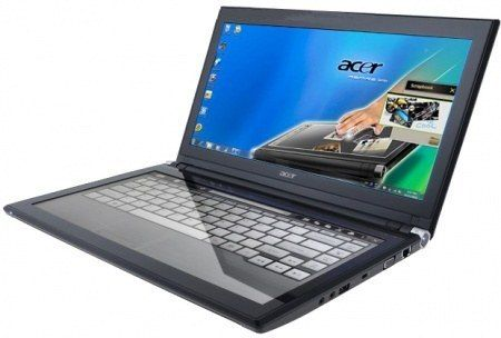 Acer Iconia-484G64is вид сверху