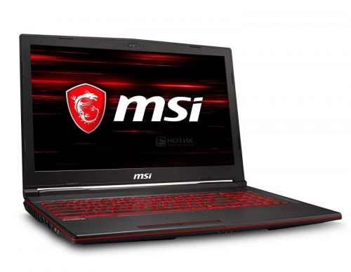 MSI GL63 8RE-845XRU 9S7-16P532-845 вид сбоку
